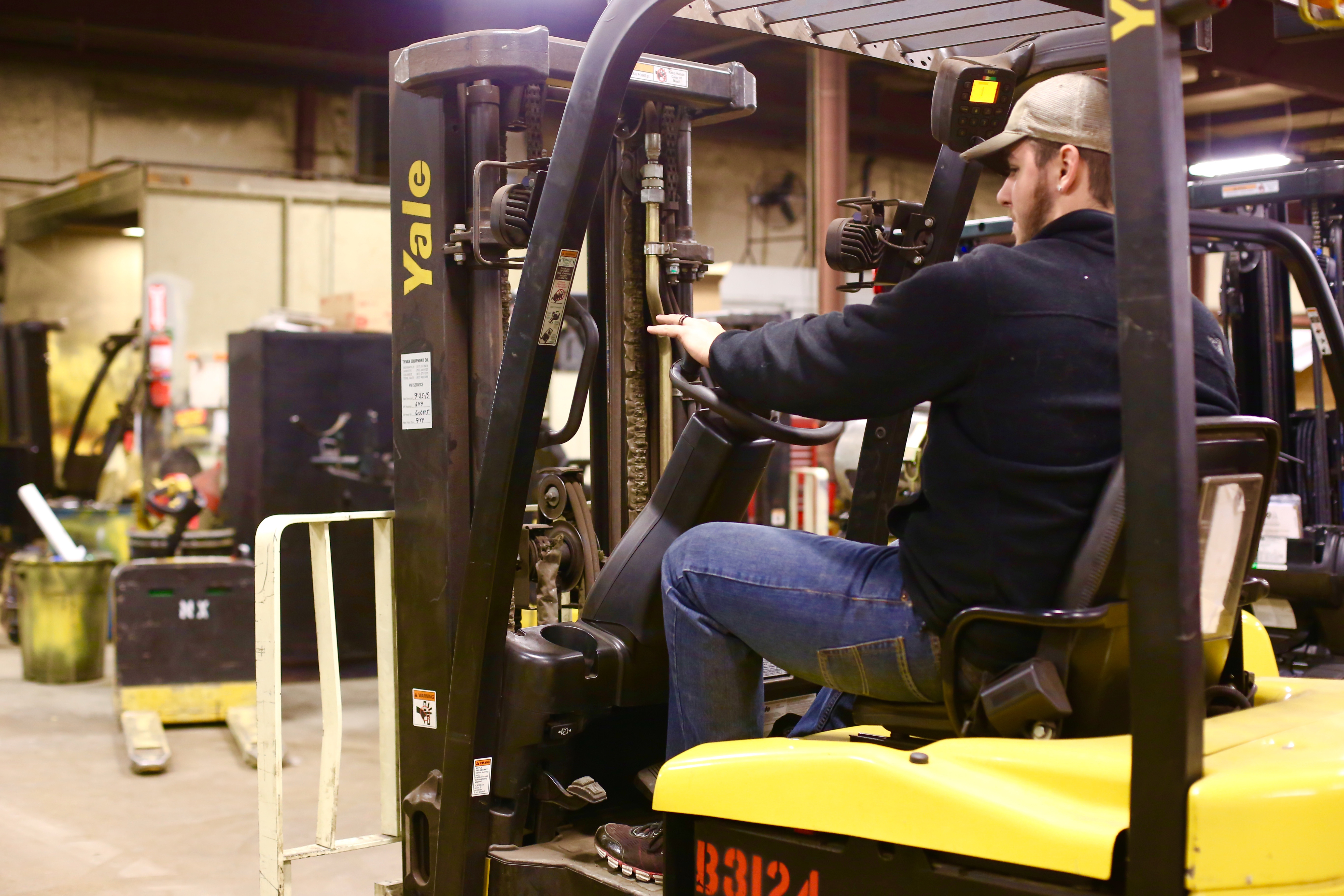 Forklift Won't Start? Here's What To Do   Tynan Equipment Co on