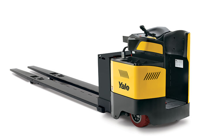 Tynan equipment reach trucks by yale for Motorized pallet jack rental